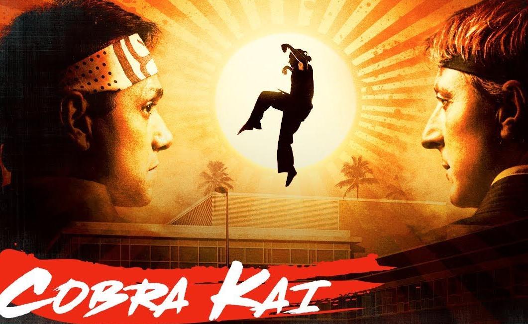 Portada de serie Cobra Kai