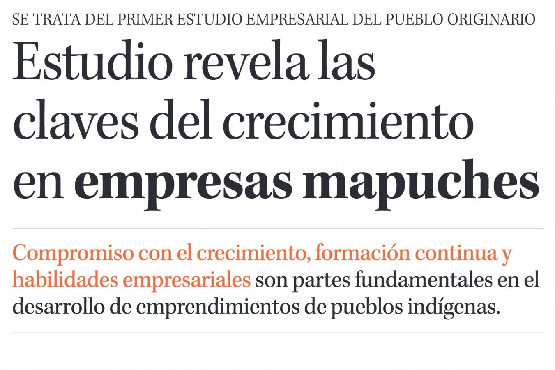 Encabezado de noticia en Diario Concepción